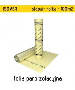 Isover Stopair 100 m2 folia paroizolacyjna do ścian, dachów i stropów