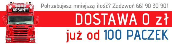 Arsanit dostawa styropianu za 0 zł