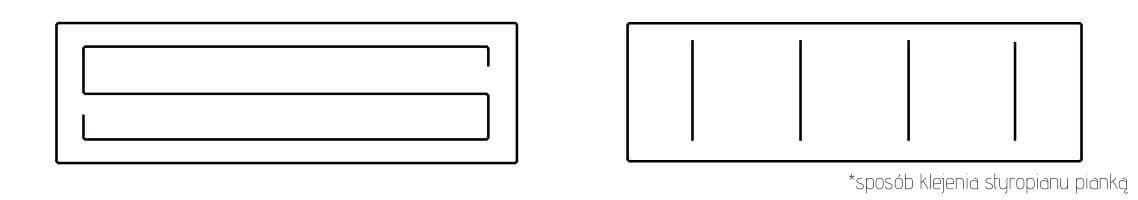 Styrafix B - sposób klejenia płyt styropianowych