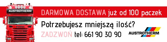 Austrotherm cennik dostawy styropianu za 0 zł