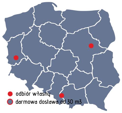 Styropmin dostawa 0 zł od 30m3 cała Polska